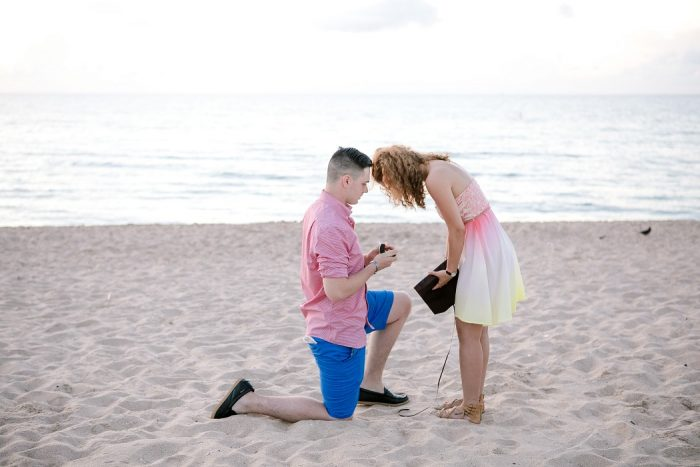 Engagement Proposal Ideas in Fort Lauderdale Beach