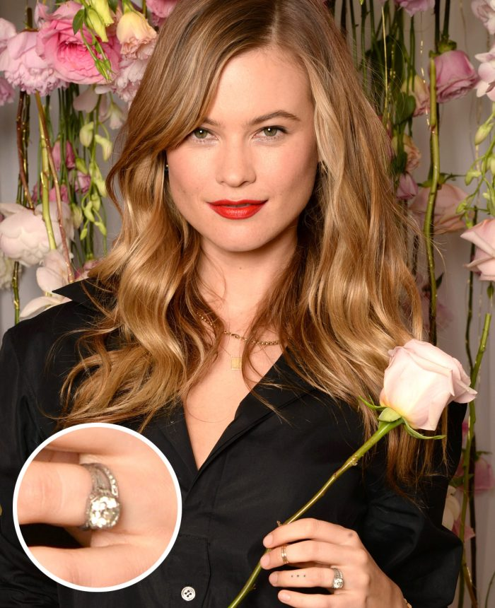 Image 63 of 75 of the Best Celebrity Engagement Rings of All Time