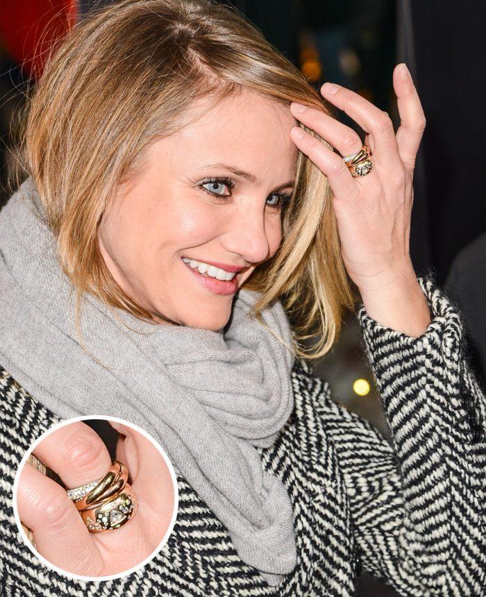 Cameron Diaz Engagement Ring