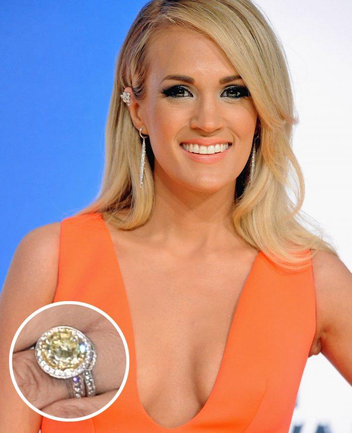 Image 18 of 75 of the Best Celebrity Engagement Rings of All Time