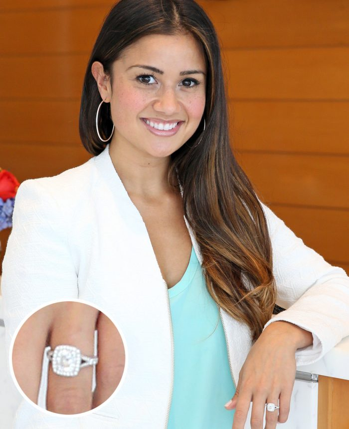 Catherine Lowe Engagement Ring