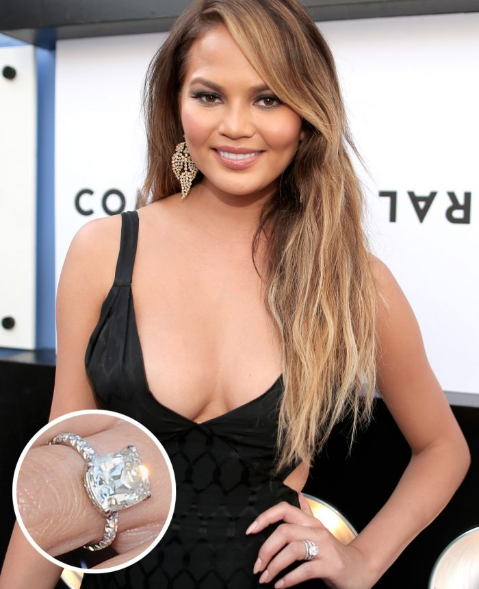 Image 60 of 75 of the Best Celebrity Engagement Rings of All Time