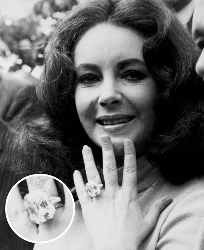 Image 47 of 75 of the Best Celebrity Engagement Rings of All Time