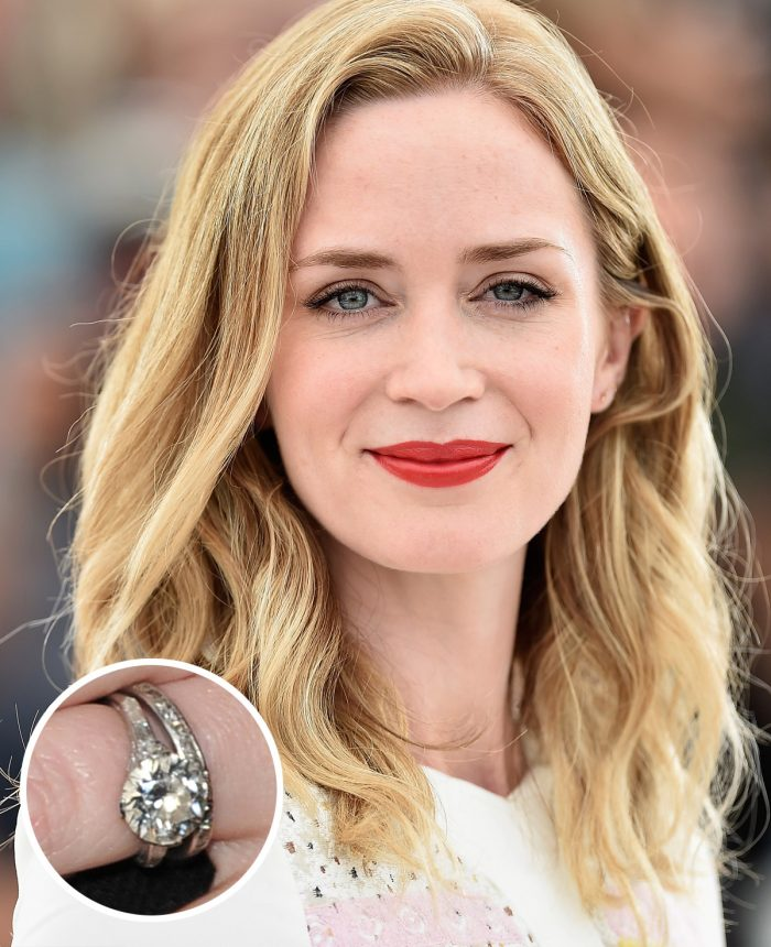 Emily Blunt Engagement Ring