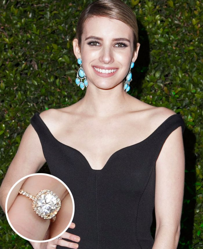 Emma Roberts Engagement Ring