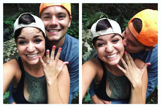 Marriage Proposal Ideas in camping