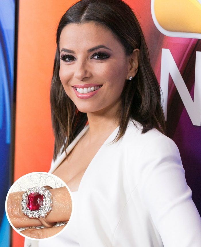 Image 15 of 75 of the Best Celebrity Engagement Rings of All Time