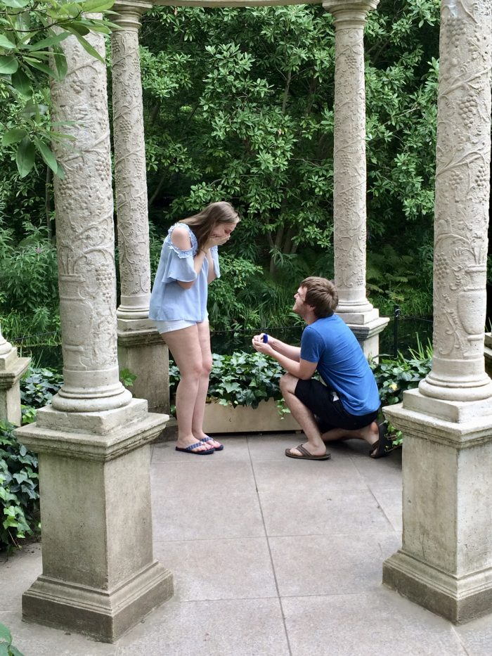 Marriage Proposal Ideas in Longwood Gardens in Kennet Square, PA