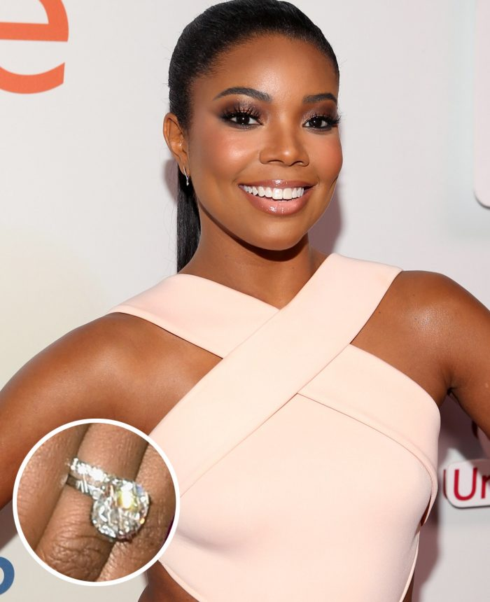 Image 65 of 75 of the Best Celebrity Engagement Rings of All Time