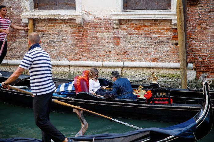 Shea and Sebastian Renzo's Engagement in Venice Italy