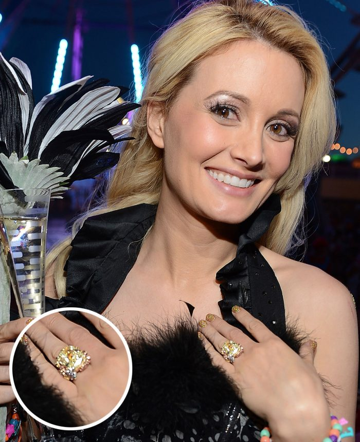Holly Madison Engagement Ring