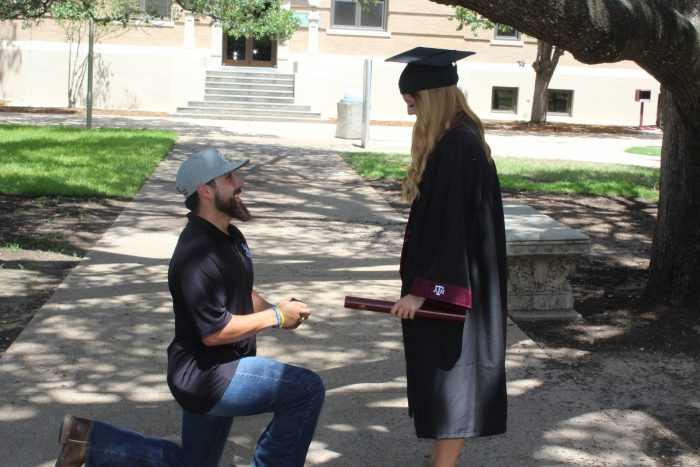 Engagement Proposal Ideas in Texas A&M University