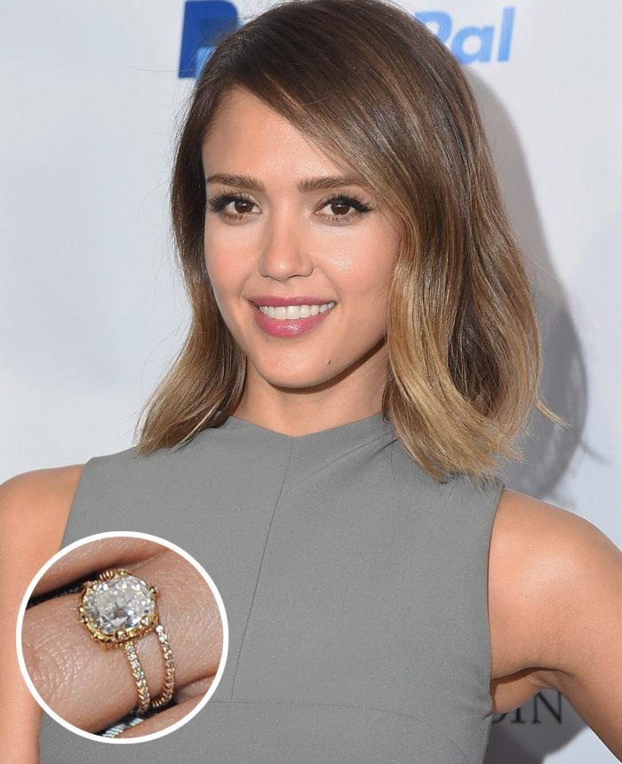 Image 73 of 75 of the Best Celebrity Engagement Rings of All Time
