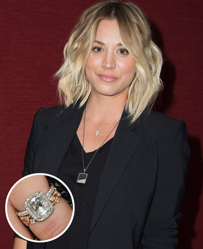 Image 35 of 75 of the Best Celebrity Engagement Rings of All Time
