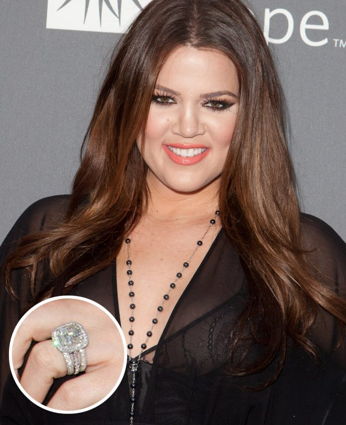 Khloe Kardashian Engagement Ring