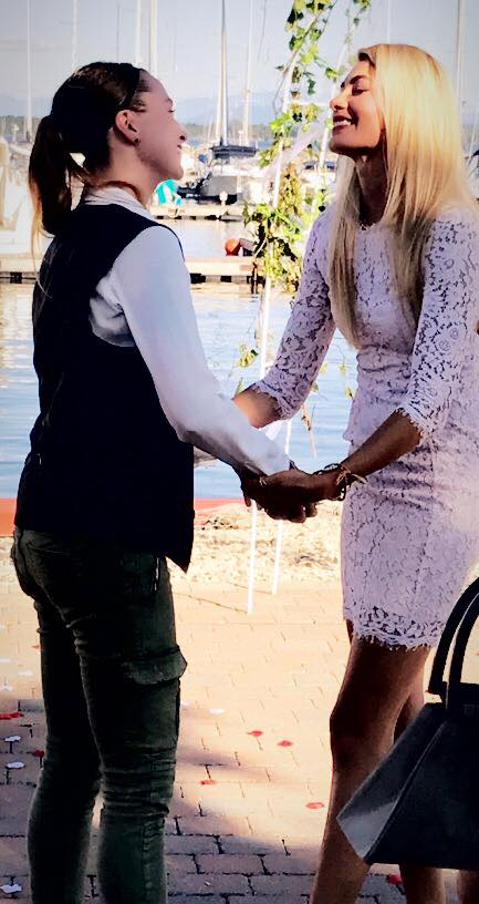Wedding Proposal Ideas in Cafe Mooney Bay Marina, Lake Champlain, NY