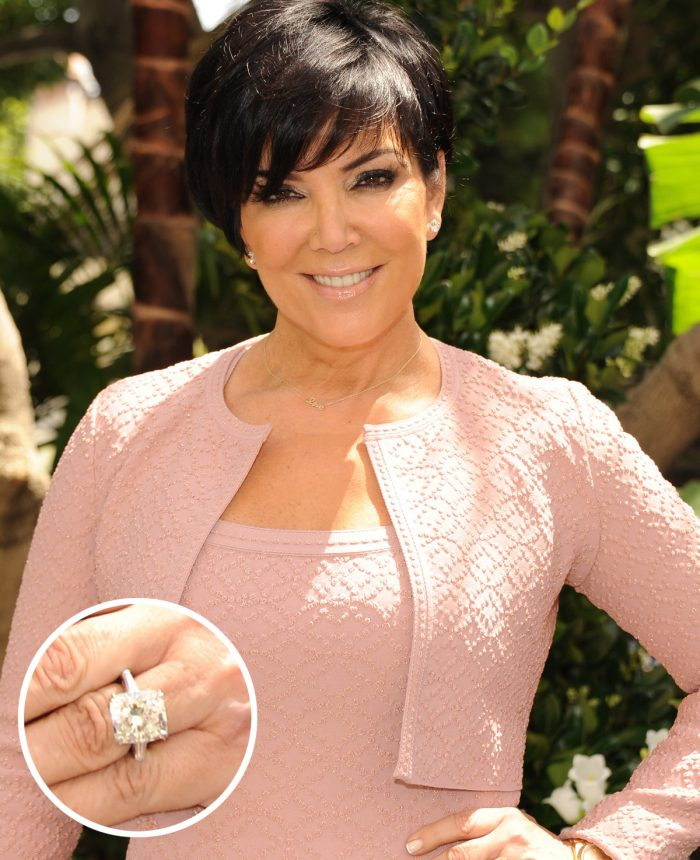 Kris Jenner Engagement Ring