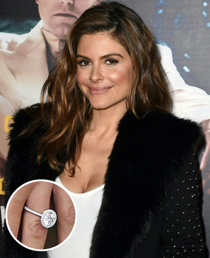 Maria Menounos Engagement Ring