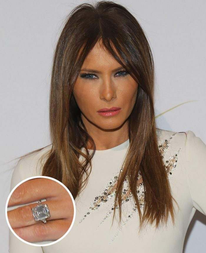 Image 7 of 75 of the Best Celebrity Engagement Rings of All Time