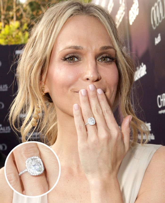 Image 64 of 75 of the Best Celebrity Engagement Rings of All Time