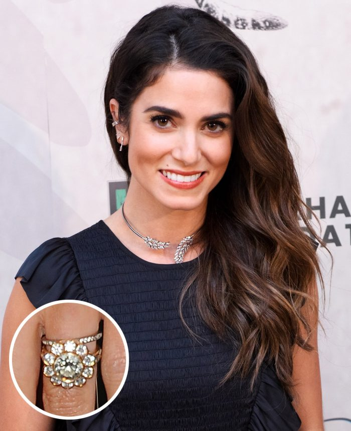 Nikki Reed Engagement Ring