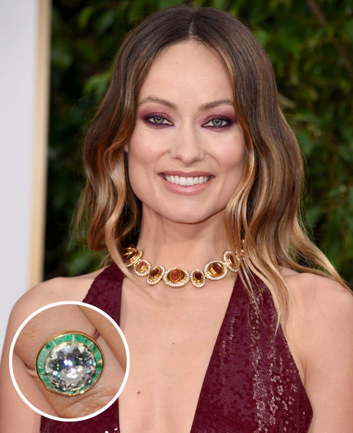 Olivia Wilde Engagement Ring