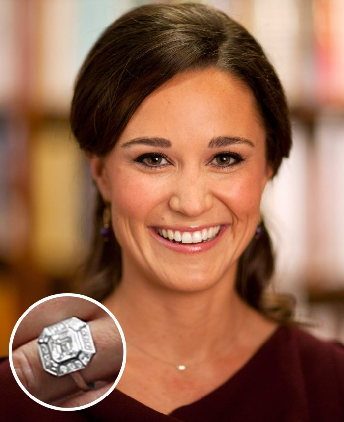 Image 4 of 75 of the Best Celebrity Engagement Rings of All Time