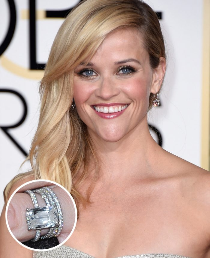 Image 51 of 75 of the Best Celebrity Engagement Rings of All Time