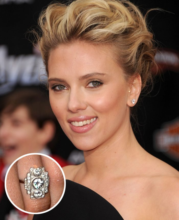 Image 55 of 75 of the Best Celebrity Engagement Rings of All Time