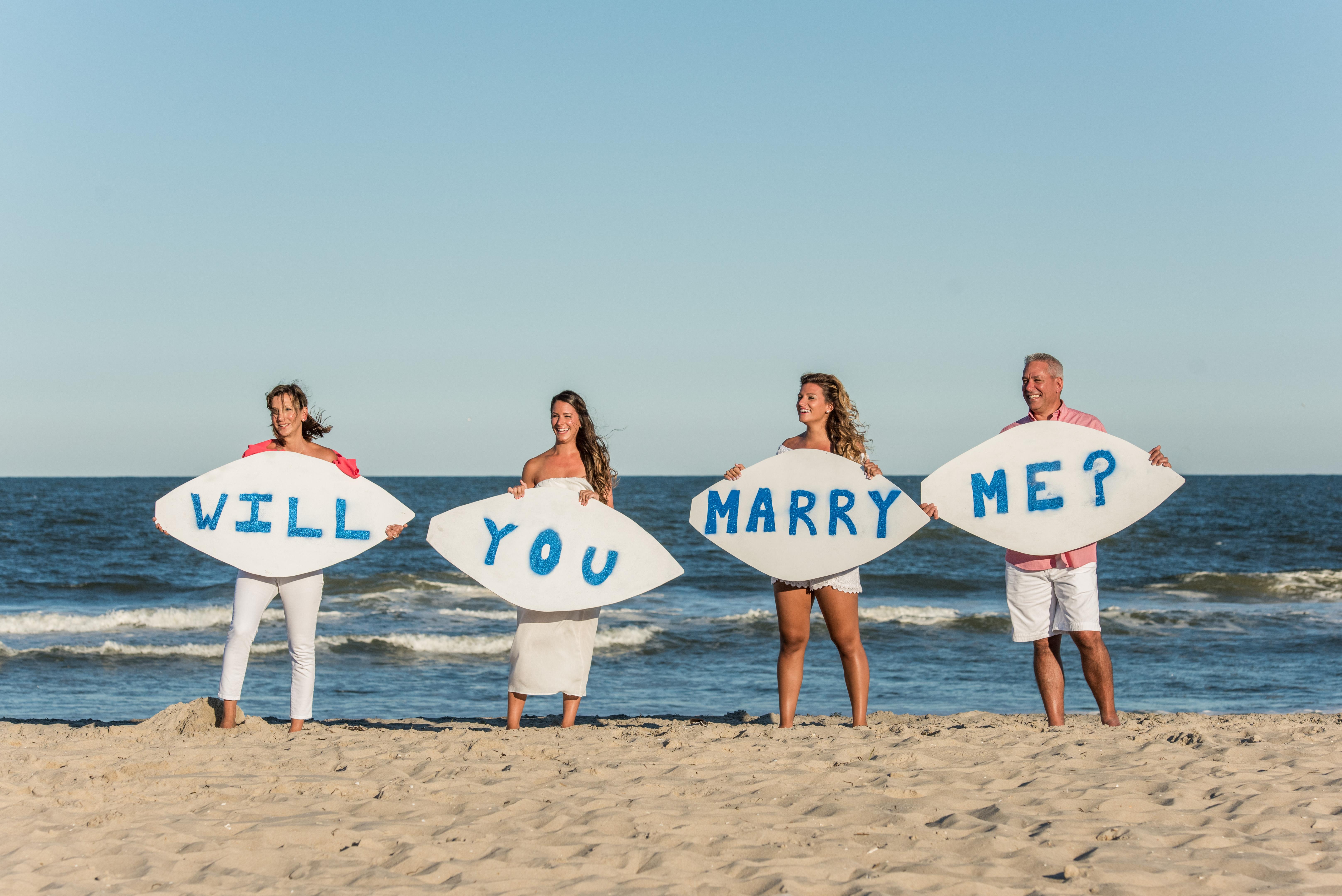 Shelby's Proposal in Holgate, Long Beach Island, NJ