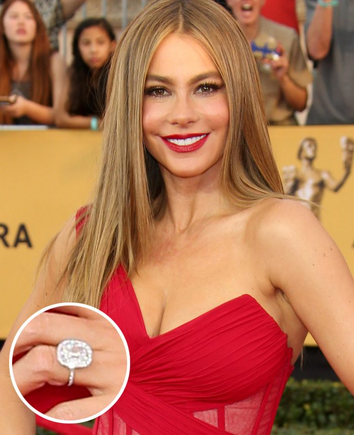 Image 28 of 75 of the Best Celebrity Engagement Rings of All Time
