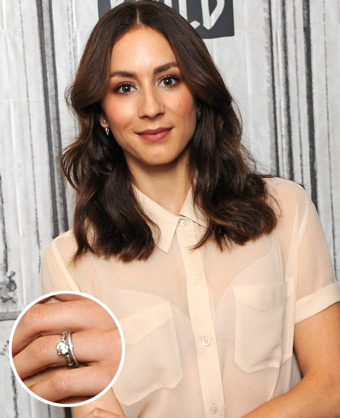 Troian Bellisario Engagement Ring