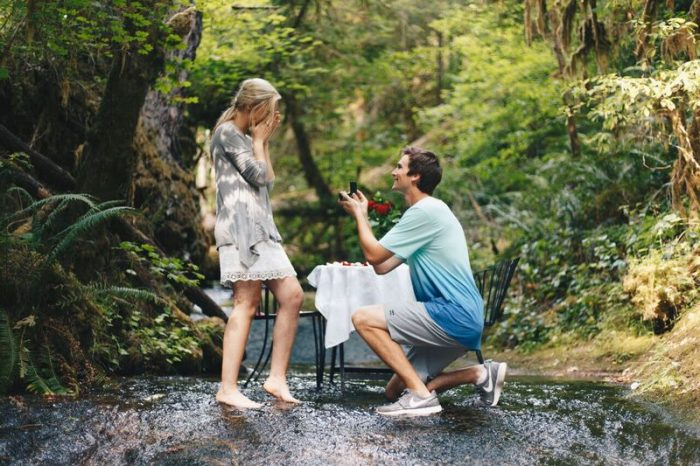 Trey's Proposal in McKenzie River, OR