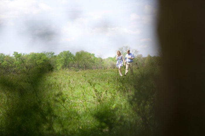 Marissa's Proposal in In a field near his grandparents farm