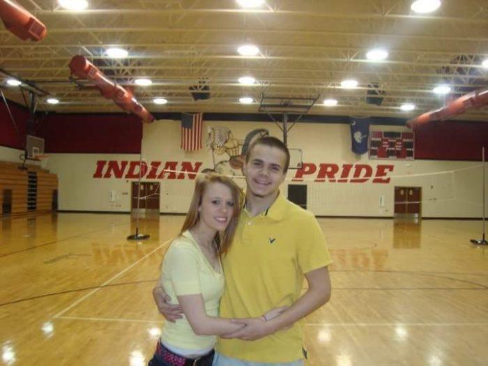 Bryana and Zack's Engagement in Williams Brice Stadium in Columbia SC