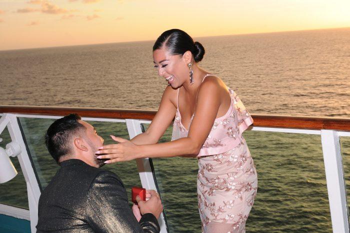 Wedding Proposal Ideas in Cruise Ship