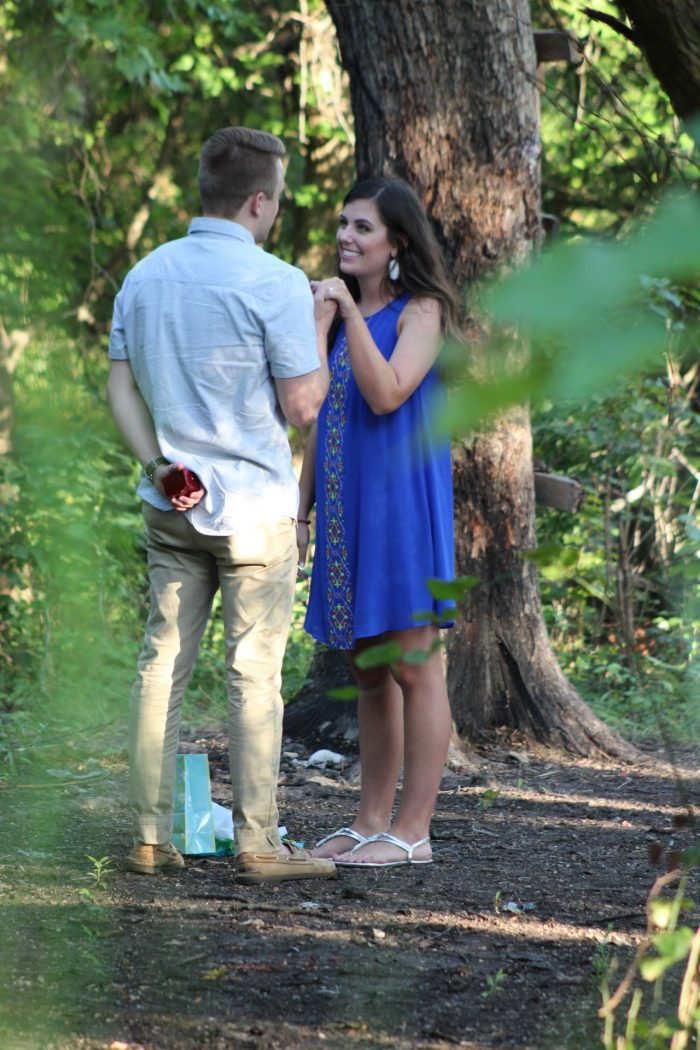 Lauren and Drew's Engagement in Where Drew asked me to be his girlfriend over 5 years ago!