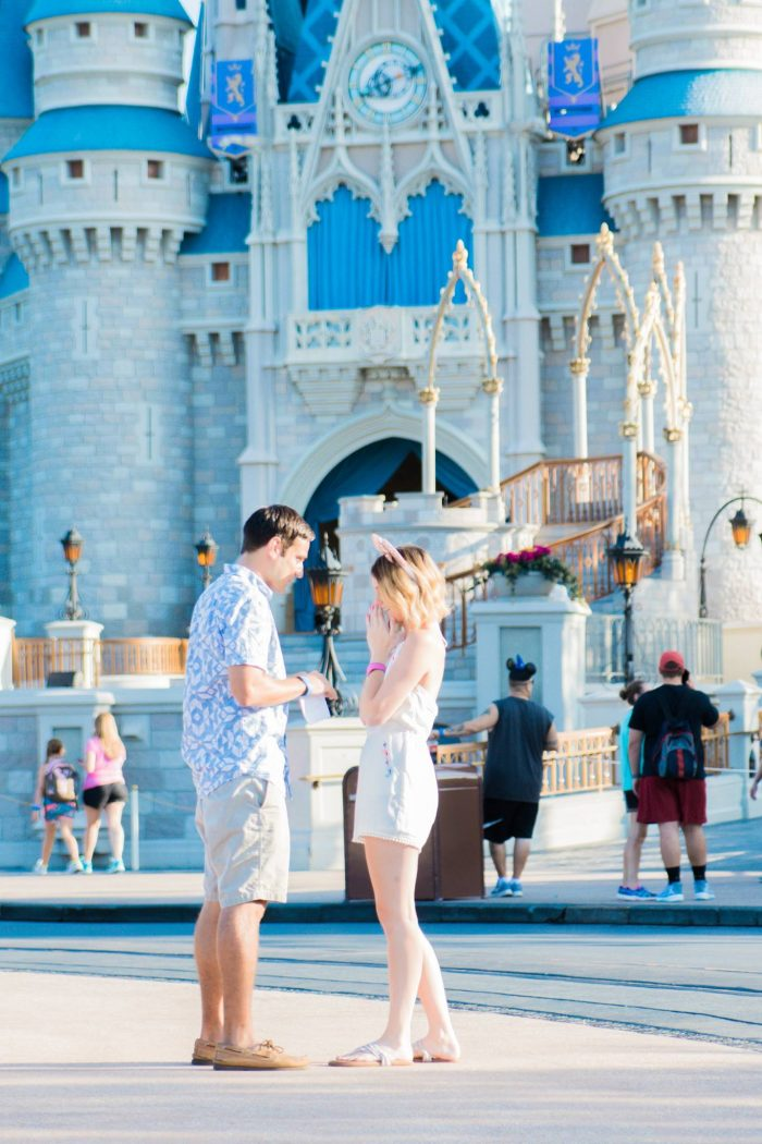 Wedding Proposal Ideas in Walt Disney World's Magic Kingdom