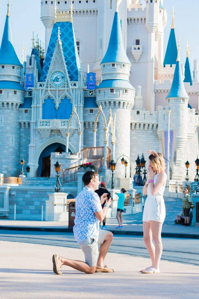 Engagement Proposal Ideas in Walt Disney World's Magic Kingdom