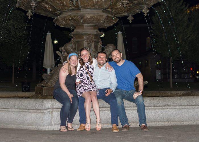 Megan and Matt's Engagement in Boston, MA