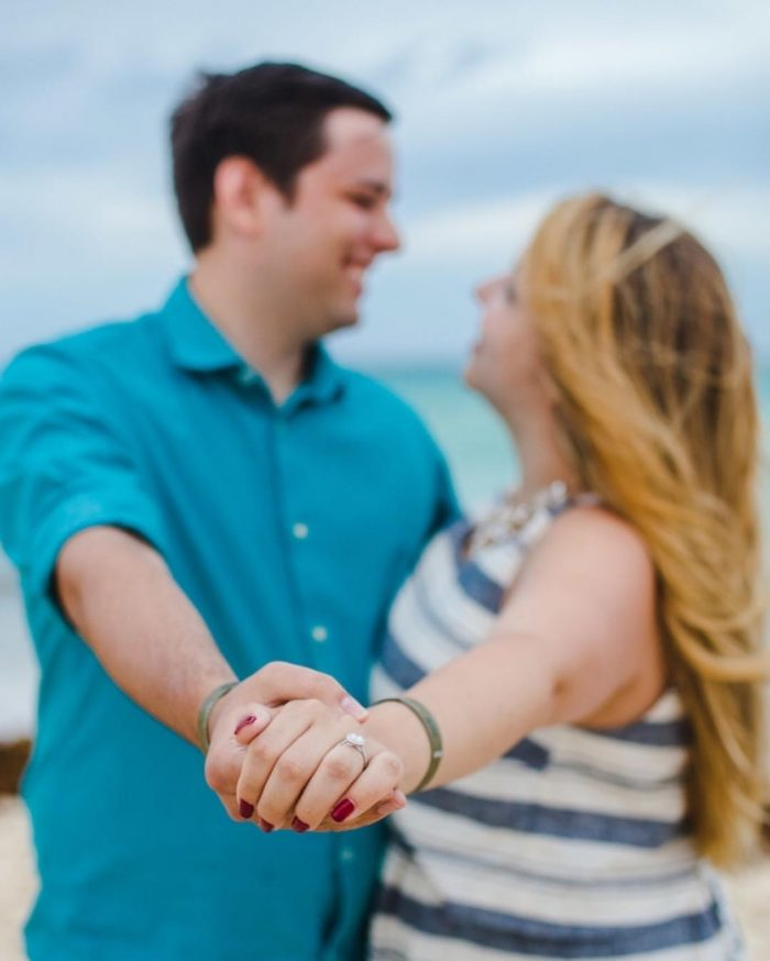 Allie and Jason's Engagement in Playa del Carmen, Mexico