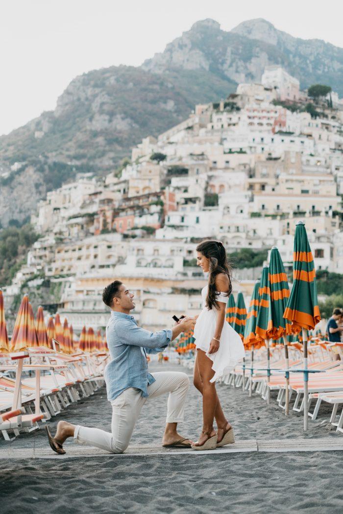 Mary's Proposal in Positano, Italy
