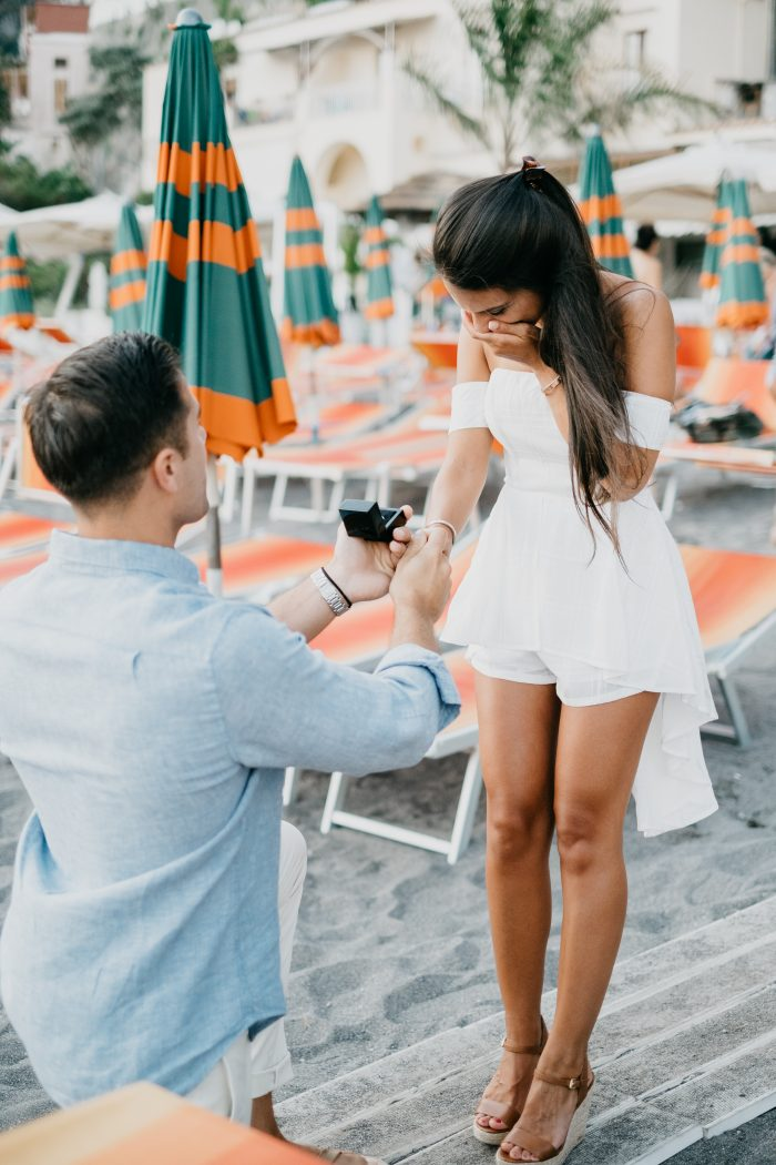 Engagement Proposal Ideas in Positano, Italy