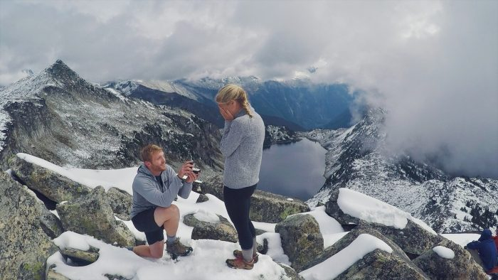 Wedding Proposal Ideas in Hidden Lake Lookout, North Cascades, Wa