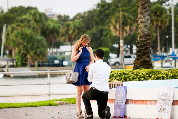 Engagement Proposal Ideas in Downtown St. Petersburg, FL