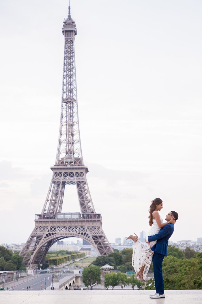 Shil's Proposal in Paris, France