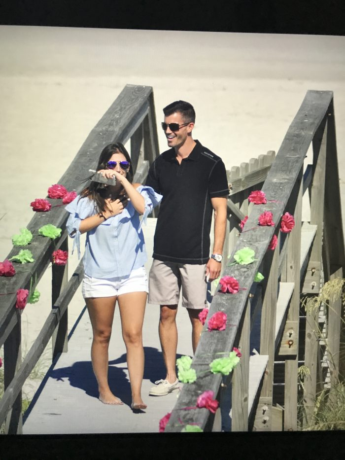 Alexandra's Proposal in Fernandina beach, FL