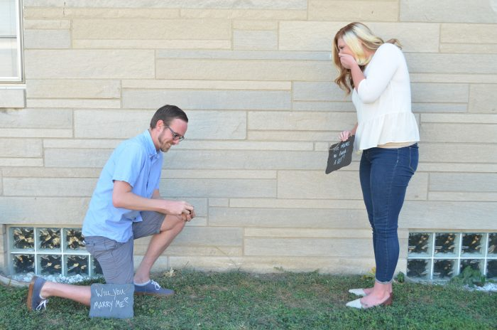 Engagement Proposal Ideas in Their backyard