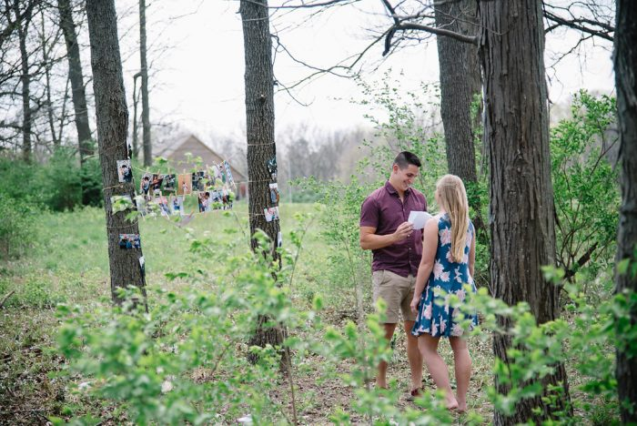 Proposal Ideas At my home in Crawfordsville, IN