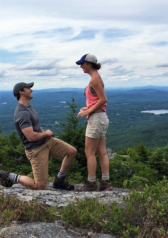 Emily and Joshua's Engagement in Jaffrey, New Hampshire